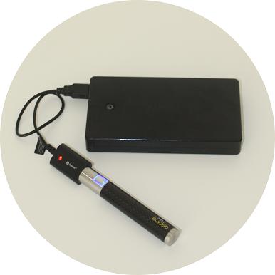 Mobil e-Zigarette aufladen