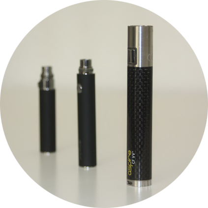 Akkus für e-Zigaretten