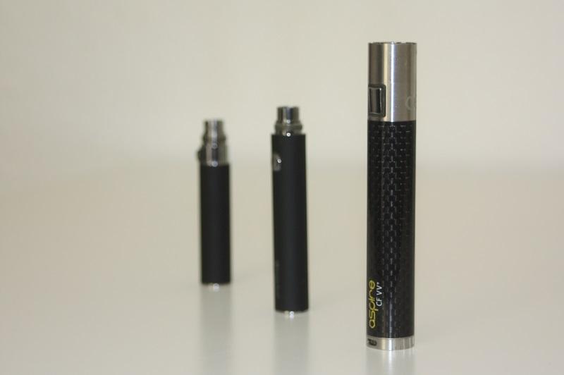 E-Zigarette Akku und Akkuträger